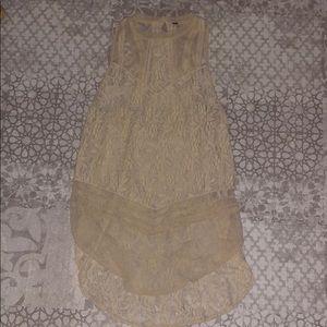 Free People lace tunic / dress